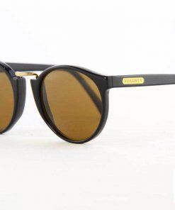 VUARNET Sunglasses 401 Black PX2000 Mineral Brown Lens