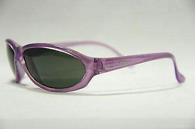 VUARNET 033 Men Women Large Purple Crystal Sunglasses PX3000 Gray lens