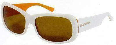 VUARNET Sunglasses 625 White & Orange PX2000 Brown Mineral Lens