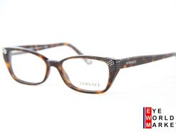 VERSACE 3150 Havana Brown Eyeglasses
