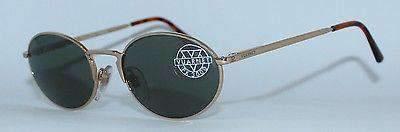 Vintage VUARNET 051 Gold Sunglasses PX3000 Mineral Gray lens