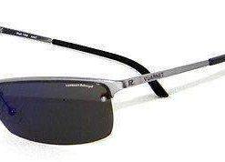 Vintage VUARNET 169  Charcoal Gray Sunglasses Polarized Gray lens Flash Violet