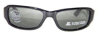 Vintage VUARNET Sunglasses 619 Black PX3000 Gray Mineral Lens