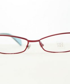 Face A Face Eyeglasses Sugar Red Col 9110 Optical Frames