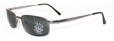 Vintage VUARNET 152  Metallic Gray Sunglasses PX3000 Gray MINERAL  lens