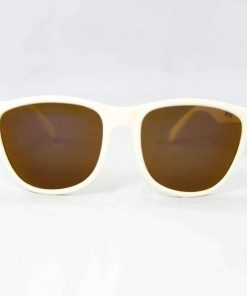 Alain Prost 031 White Sunglasses PX5000 Mineral Brown Lens By Vuarnet Made in France