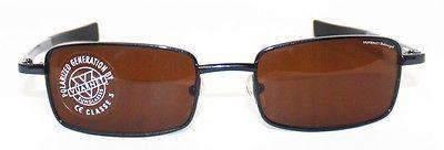Vintage VUARNET 173 Charcoal Gray  Sunglasses Polarized Brown