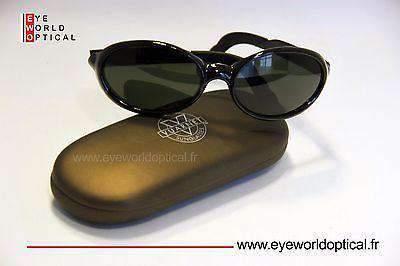 VUARNET 098 Black Sunglasses PX3000 Mineral Gray lens