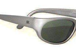 VUARNET 022 Men Women Large Gray Metalize Sunglasses PX3000 Gray lens