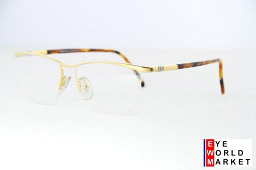 ALAIN MIKLI Eyeglasses 03057 Gold Plastic / Metal Optical Frames
