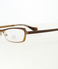 Face A Face Eyeglasses Level 3 Brown Gold Col 9118 Optical Frames