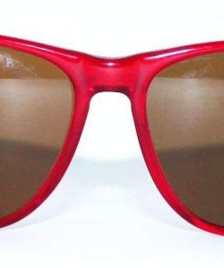 VUARNET 2408 Red Crystal Sunglasses PX2000 Mineral Brown LENS