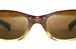 Vintage VUARNET 614 Dark Brown Sunglasses PX2000 Brown Mineral lens