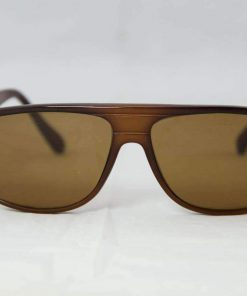 Alain Prost 458 Dark Brown Sunglasses PX2000 Mineral Brown Lens By Vuarnet Made in France