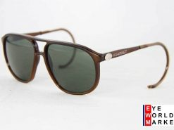 VUARNET Sunglasses 117 Dak Brown Cable Hook PX3000 Mineral Gray Lens