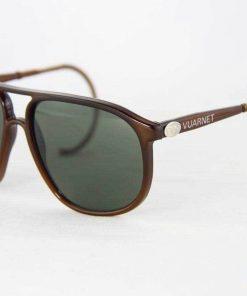 VUARNET Sunglasses 117 Dak Brown Cable Hook PX3000 Mineral Gray Lens