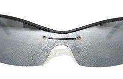 Vintage VUARNET 169  Black Matte Sunglasses Polarized Gray Flash Lens