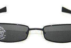 Vintage VUARNET 172 Black Sunglasses Plarized Gray