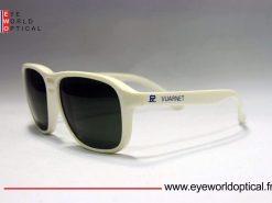 VUARNET 083 White Sunglasses PX3000 Gray lens Mineral Lens