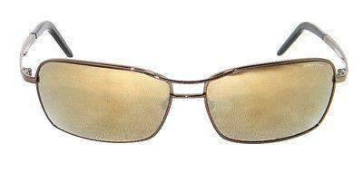 VUARNET 808E Men Women Brown Sunglasses PC Brown Flash LENS