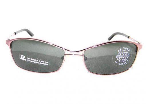 VUARNET Sunglasses 166 Brown Metal Frame PX3000 Gray Lens