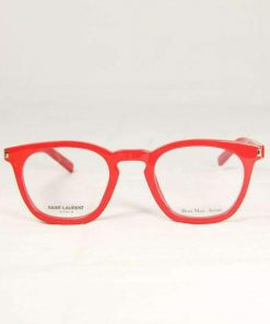 Saint Laurent SL29 Red Eyeglasses made in Italy
