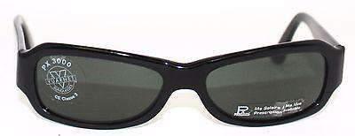 Vintage VUARNET 620 Black Sunglasses PX3000 Gray Mineral lens