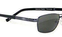 VUARNET 801E Men Women Charcoal Gray Sunglasses Polarized Gray LENS
