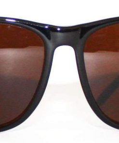 VUARNET 2408  Black Sunglasses PX5000 Mineral Brown LENS