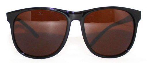 VUARNET 2408  Black Sunglasses PX5000 Mineral Brown LENS