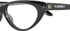 VUARNET Black 060 Retro Cat Eye Women Eyeglasses