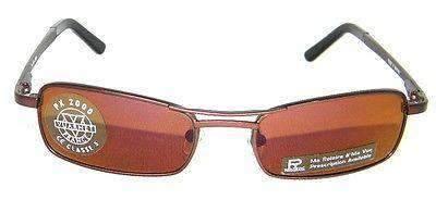 Vintage VUARNET 180 Brown  Sunglasses PX2000 Flash violet Mineral Lens