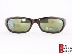 VUARNET 111 Brown Sunglasses PX3000 Gray Mineral Flash Bronze lens