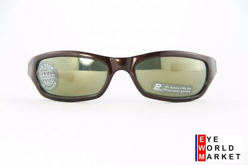 VUARNET 111 Brown Sunglasses PX3000 Gray Mineral Flash Bronze lens