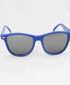 Alain Prost 031 Blue Sunglasses PC Gray External Anti-Reflex Lenses By Vuarnet Made in France