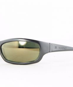 VUARNET 111 Charcoal Gray Sunglasses PX3000 Gray Mineral Flash Bronze lens