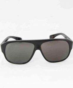 Alain Prost 461 Black Sunglasses PC Gray Lenses Internal Anti-Reflex By Vuarnet Made in France