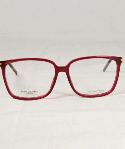 Saint Laurent SL48 Burgundy Eyeglasses made in Italy
