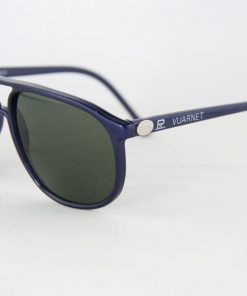 VUARNET 4017 Blue Metal Sunglasses PX3000 Mineral Gray Lens