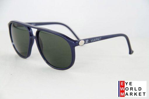 VUARNET 4017 Blue Metal Sunglasses PX3000 Mineral Gray Lens