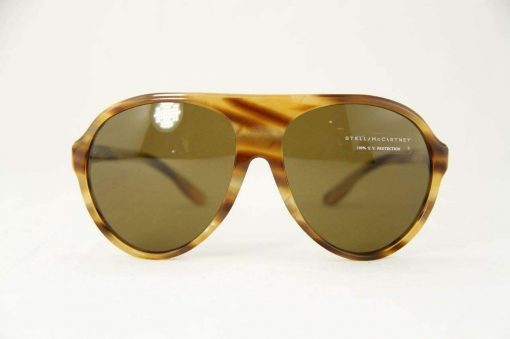 Stella McCartney SM4021 Sunglasses Light Brown PC Brown Lens