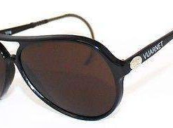 VUARNET Sunglasses 174 Black PX5000 Cable Hook MINERAL Brown Lens