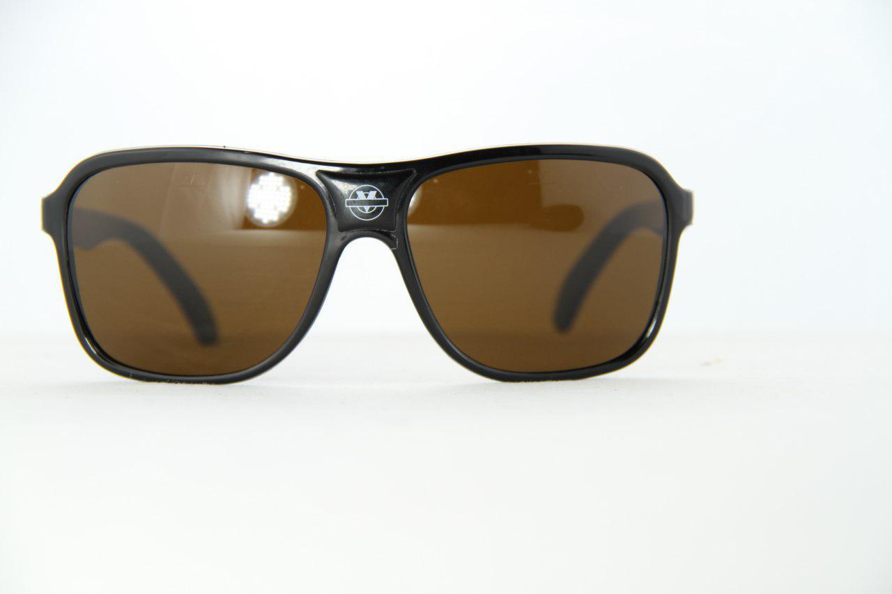 Vintage Vuarnet 003 White Sunglasses PX5000 Dark Brown lens