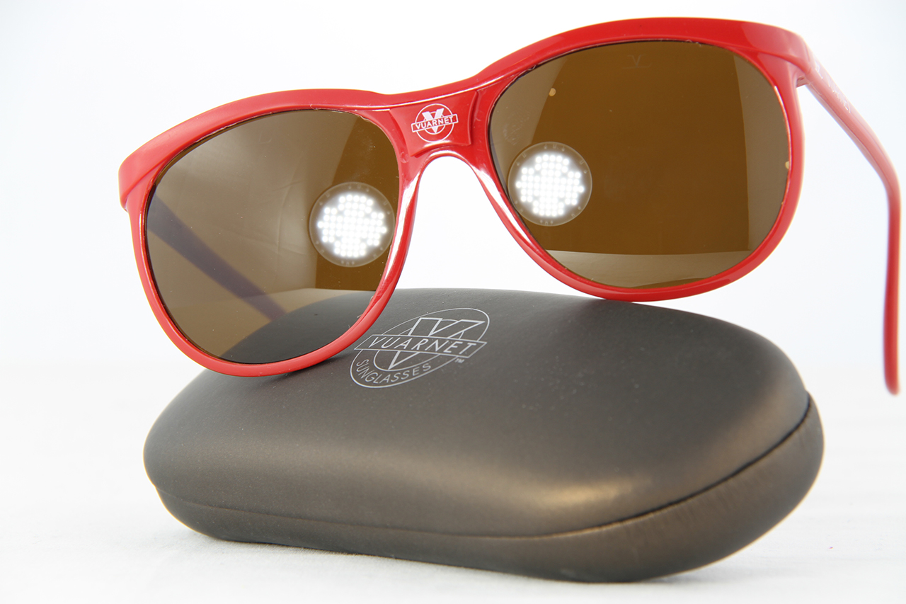 VUARNET 084 Red Sunglasses PX2000 Mineral Brown Mineral Lens